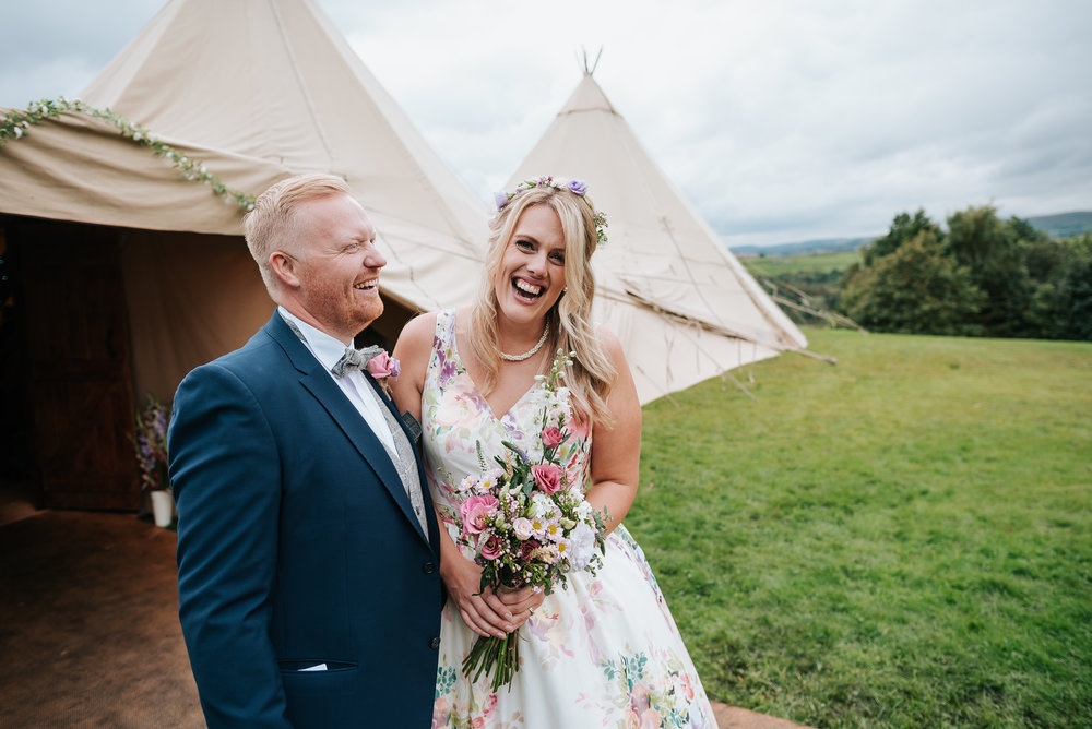 Andy and Mandy - September 2017 - Tipi by Teepee Tent Hire