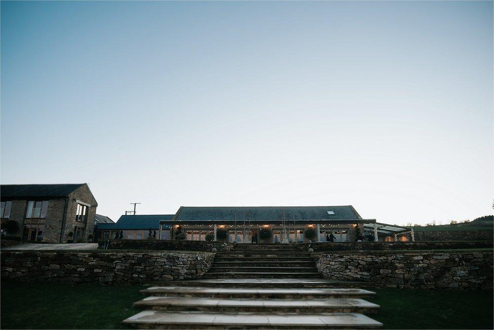 yorkshire wedding barn exterior