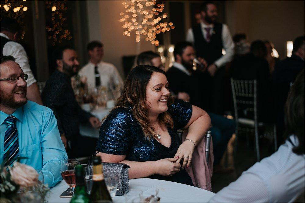 wedding reception at yorkshire wedding barn