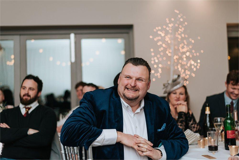 speeches at winter wedding