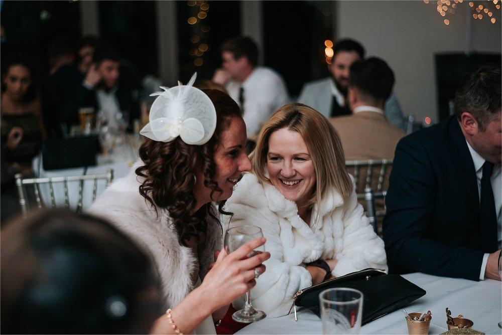 guests enjoying wedding