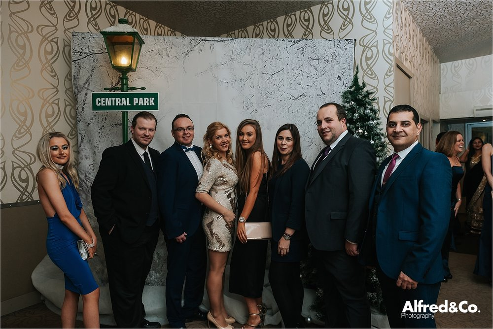 group image at christmas party