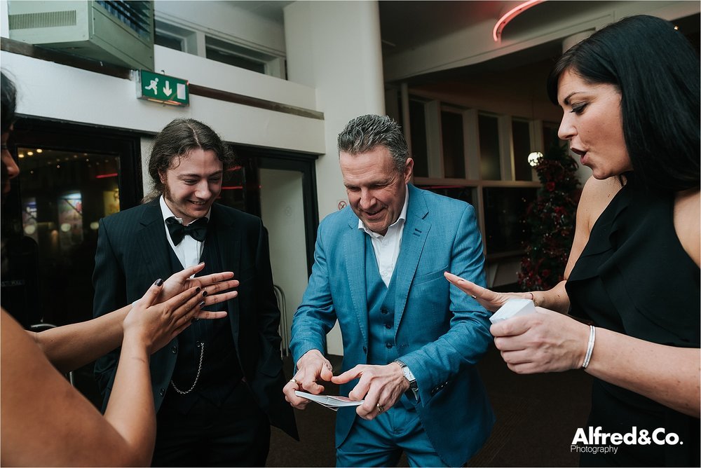 christmas party magician, blackpool