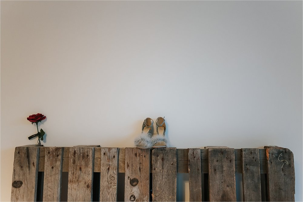 quirky wedding shoes