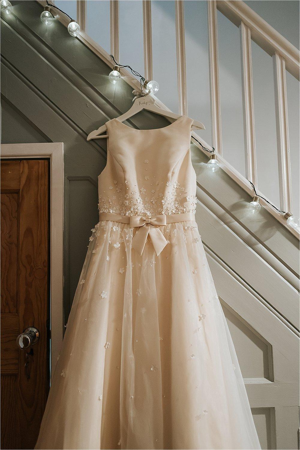 wedding dress by charlotte balbier