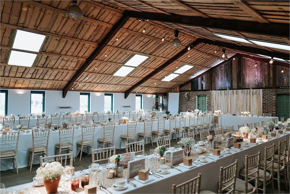 owen house wedding barn in cheshire
