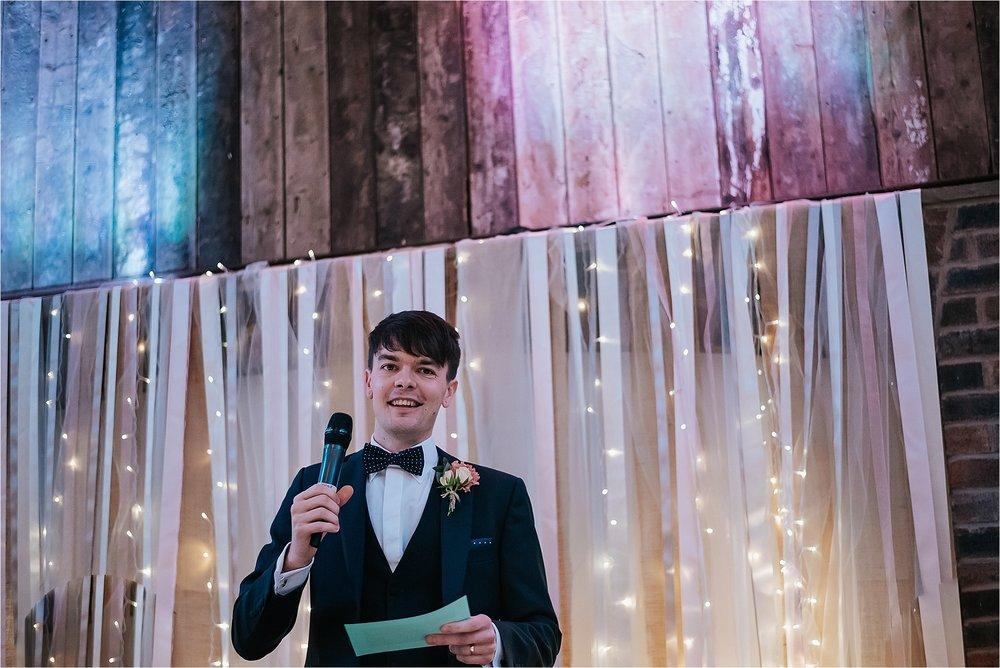wedding speeches at owen house wedding barn