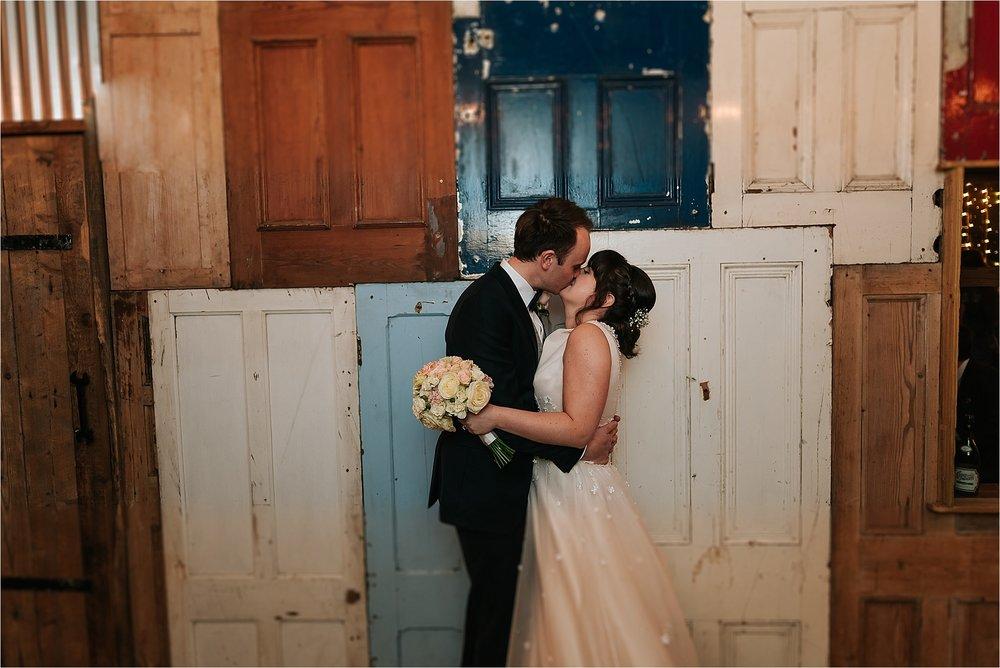 quirky wedding at owen house wedding barn