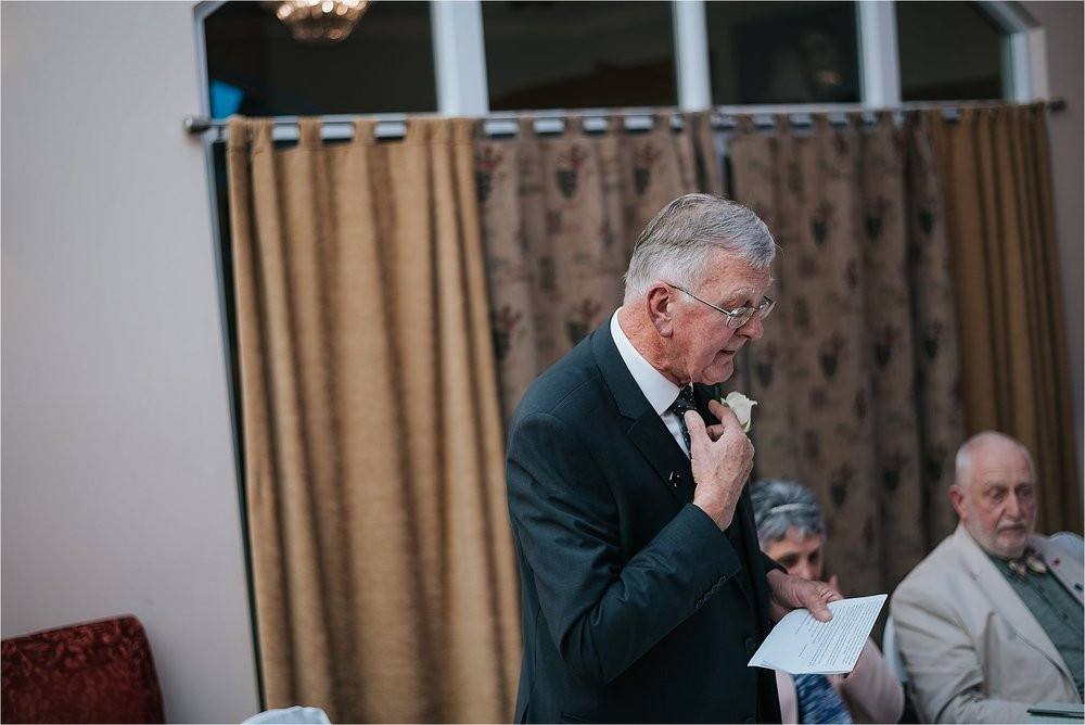 wedding speeches at the villa near wrea green