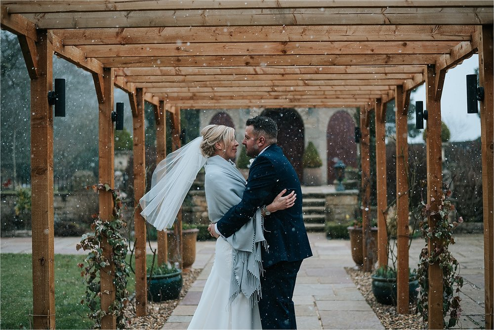 winter wedding at ferraris country house