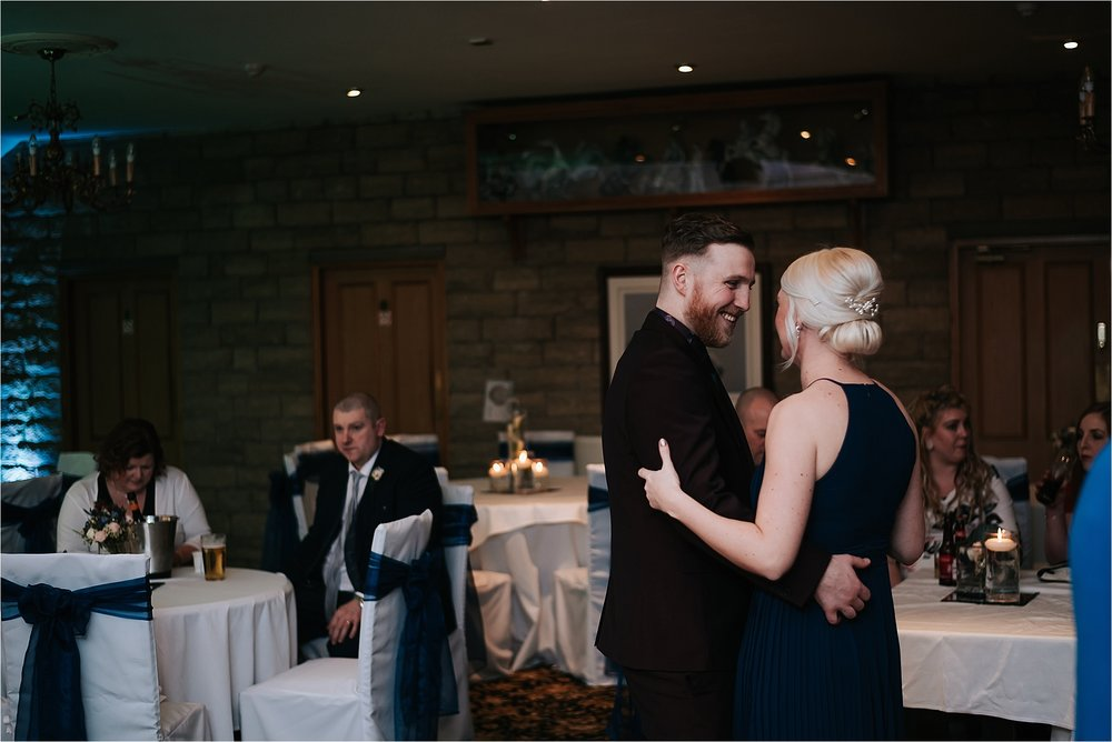 couple dancing at preston wedding