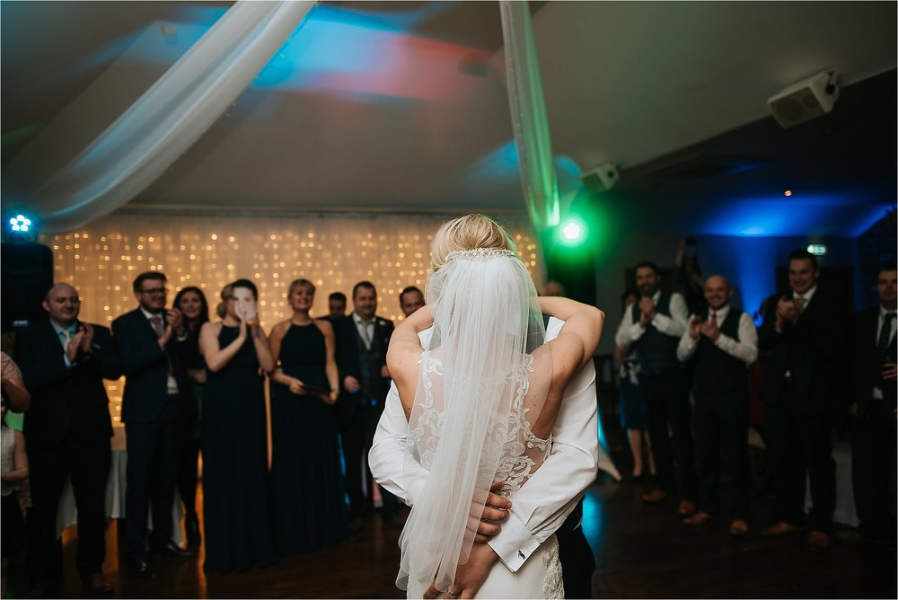 winter wedding at ferraris, preston