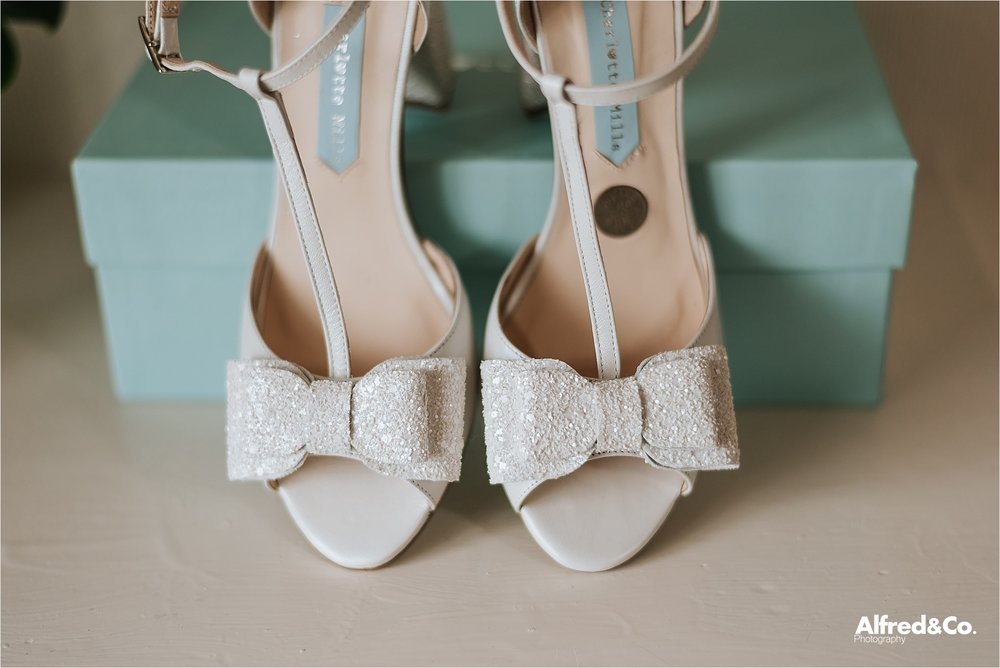 vintage charlotte mills wedding shoes
