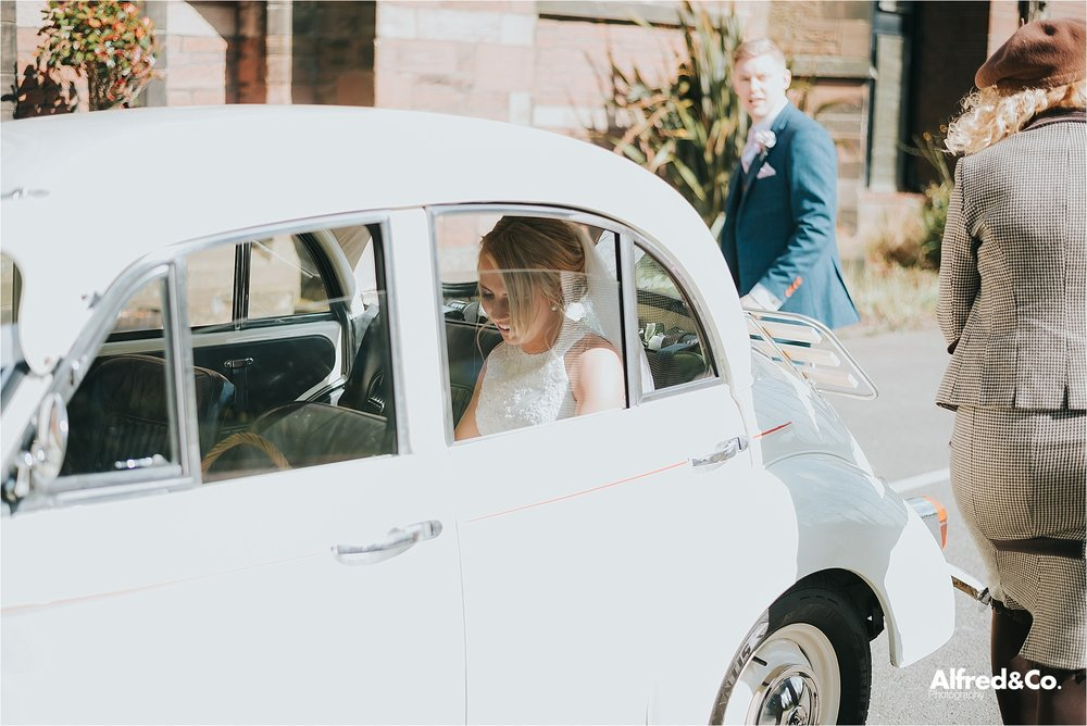 wedding car by regent classics