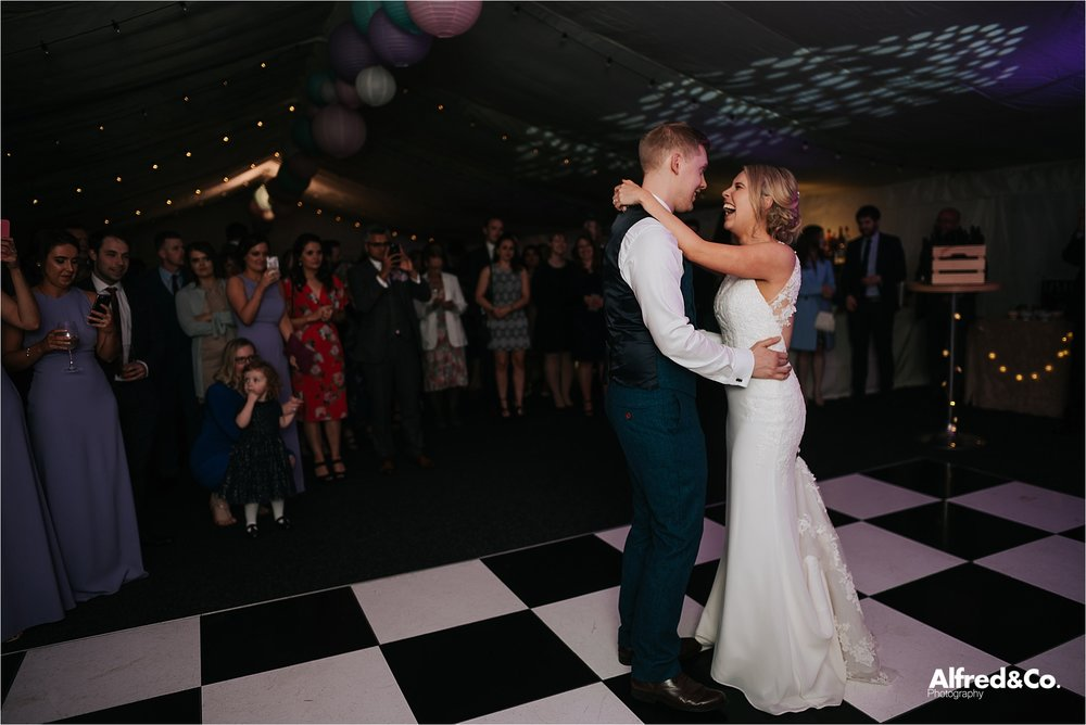 first dance at wedding