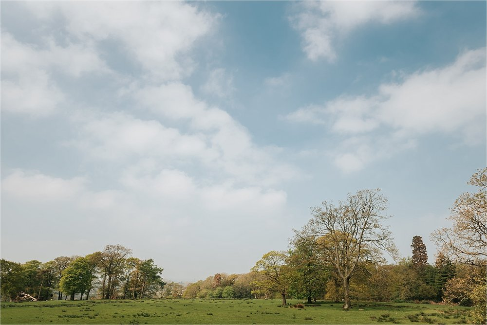 wyresdale park view in summer