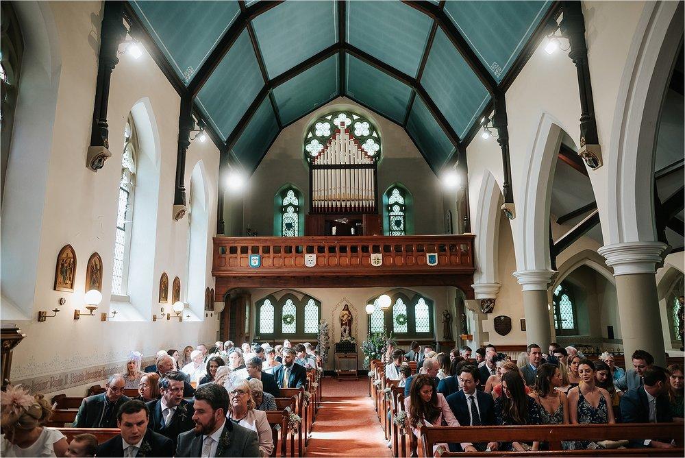 inside st marys and st james church scorton
