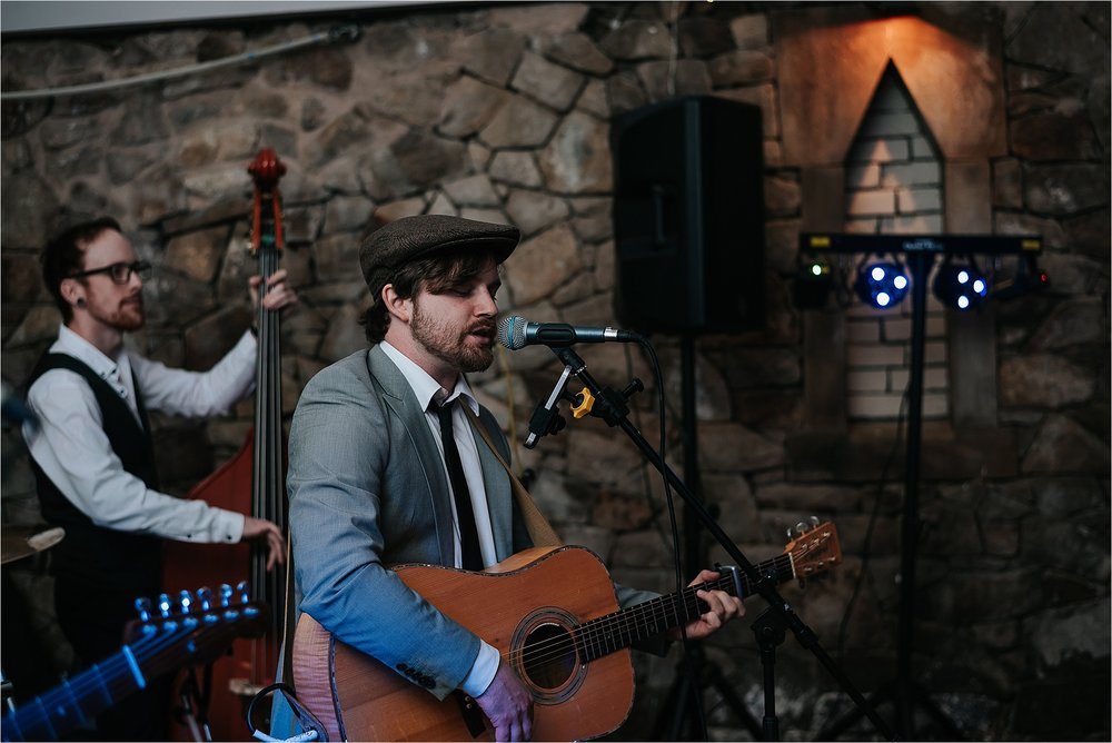 wedding band playing at wyresdale park