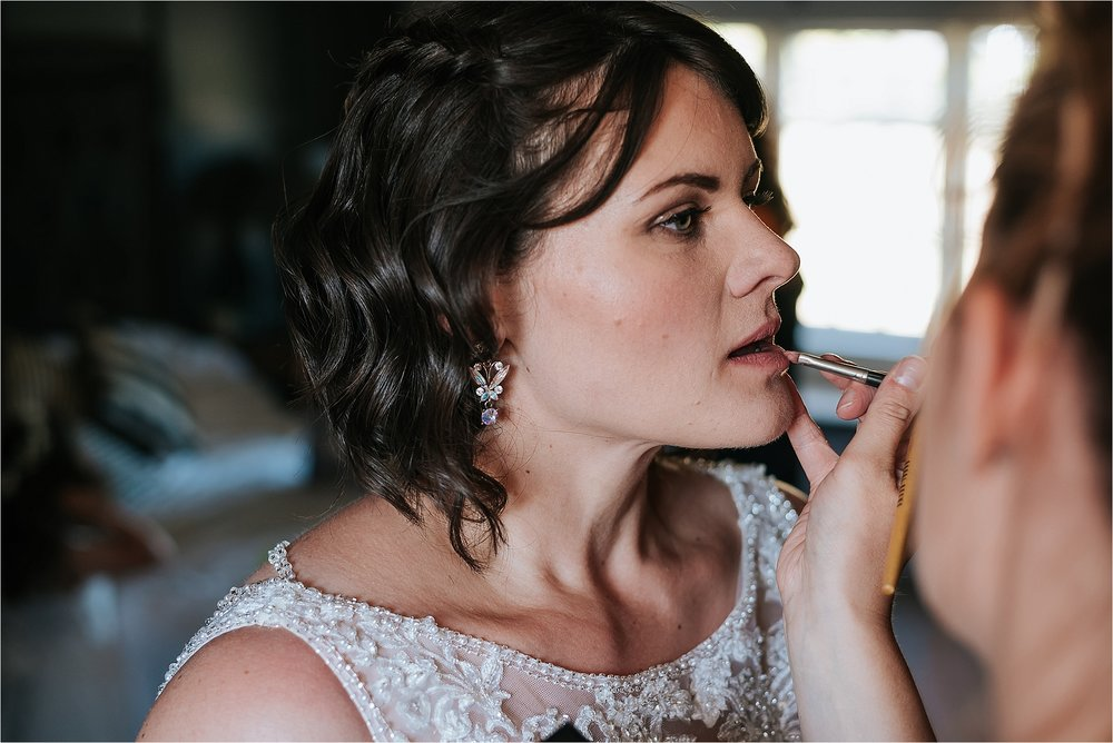 Rebecca carla mua does brides make up for clitheroe wedding