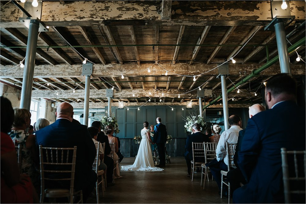Stunning wedding ceremony room