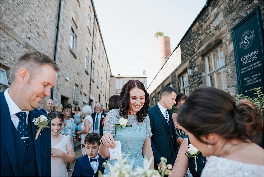 Summer wedding at holmes mill