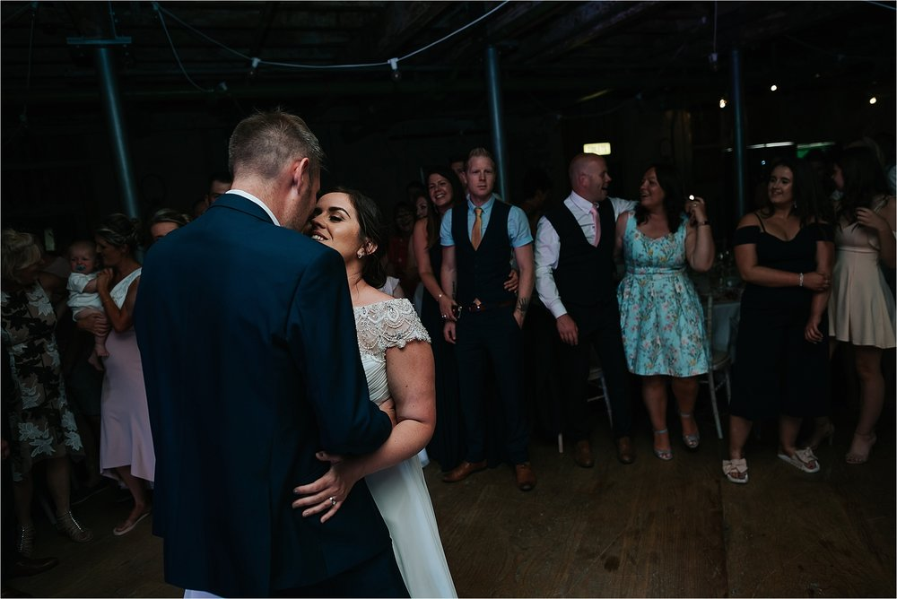 Wedding photography at Holmes Mill