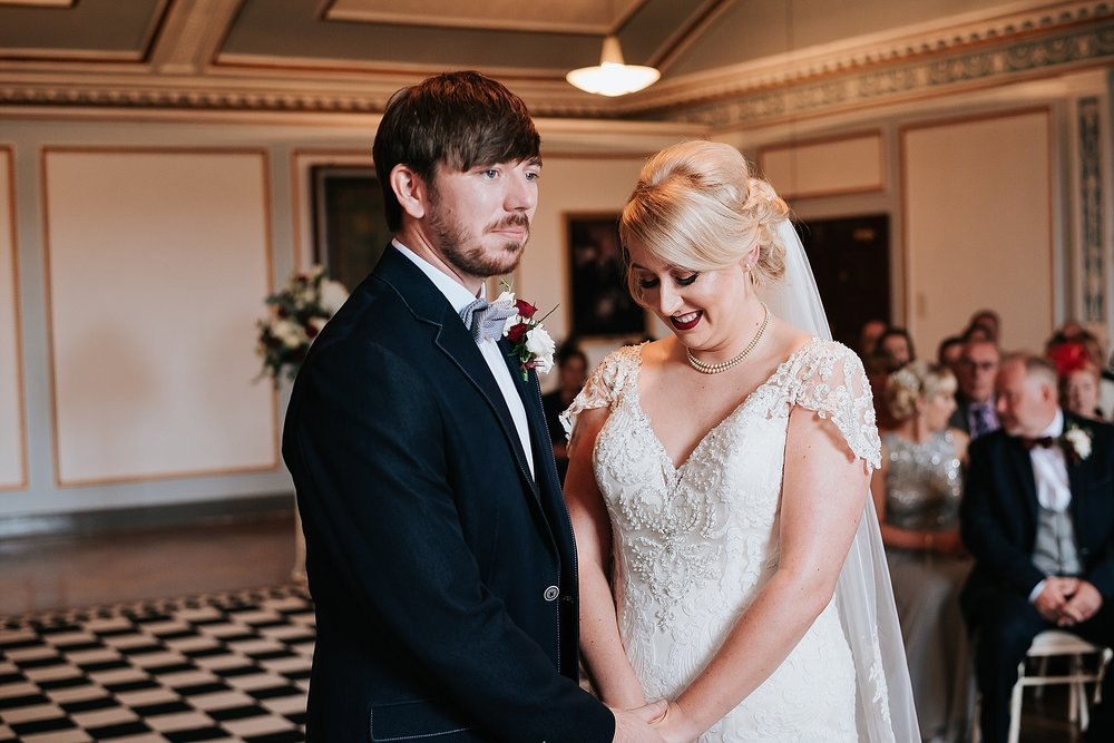 quirky wedding at st annes palace