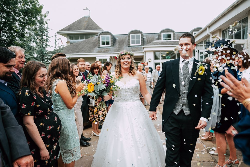 summer wedding at ribby hall