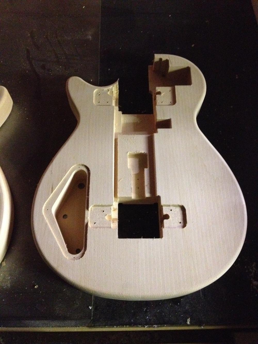 Folding Guitar Parts. Radiorobot. 2015.