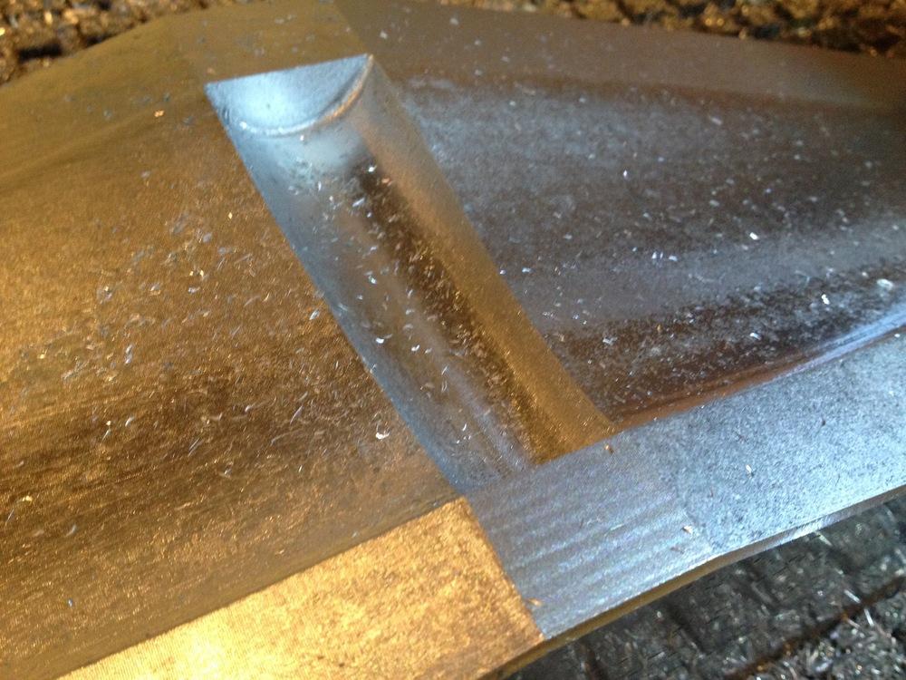 Carbon Fiber wing mold. Aluminum. Radiorobot. 2015.
