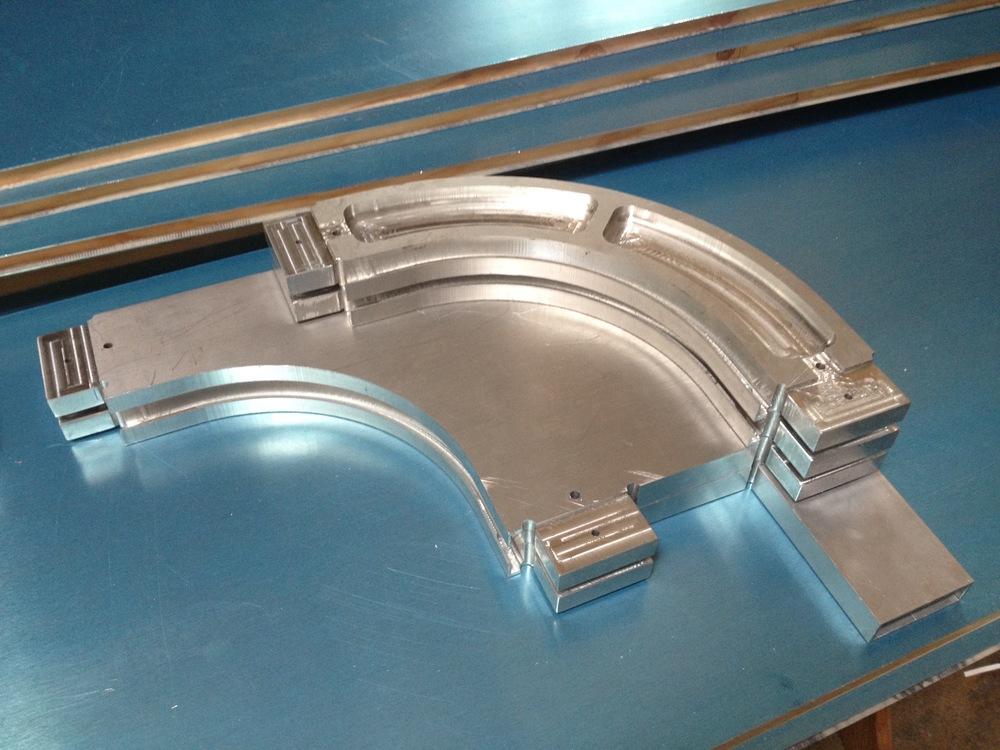 Brakets in Aluminum. Radiorobot. 2015.