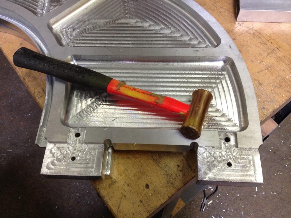 Braket in Aluminum. Radiorobot. 2015.