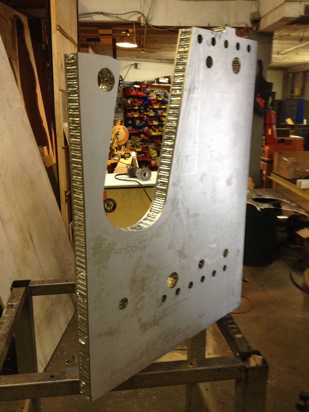 Part For Honeycomb panels. Radiorobot 2015.