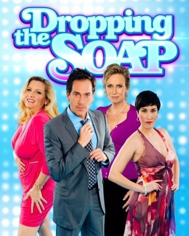 Now available on Amazon, iTunes, and Google Play!! ❤❤❤ This show is so damn funny and I seriously cannot believe I'm a part of it (I play Donovan Knockers, head writer of a failing soap opera). Everyone worked so hard to bring it to life and make it happen. Check it out and prepare to laugh yer ass off! #DroppingTheSoap #Hilarious #Comedy #Series #iTunes #Amazon #GooglePlay #Fun #Silly #Hollywood #production #DIY #magic #film #filmmaking #actor #acting #janelynch #love #instagood #instagram #web #awesome #writing #laugh