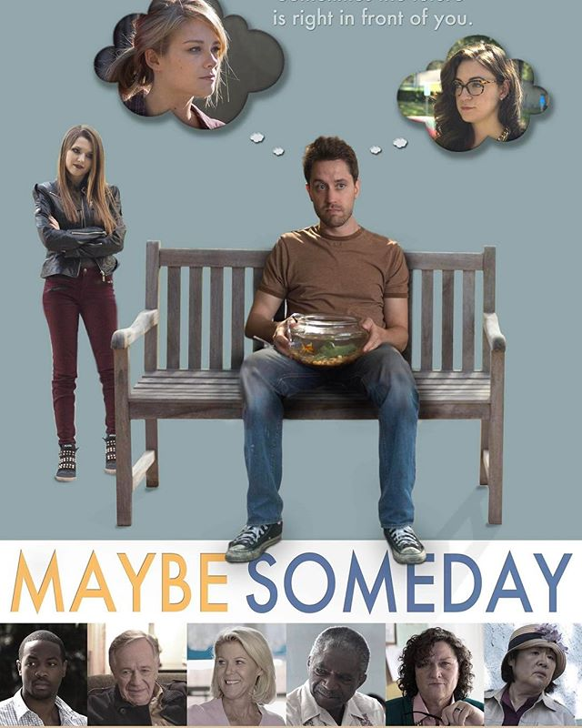 I wrote a film #MaybeSomedayMovie (@maybesomedaymovie) and it's available starting today (links below). It's a movie about living in the present; how it's never too late to get the life you want. Please watch and share and support indie film!! 😃🎥❤🎬🙌🏻 #Love #film #movie #Hollywood #production #DIY #believeinyourself #nevergiveup #amazon #vudu #vimeo #itunes #happy #smile #googleplay #fun #feelgood #comedy #drama #alleymills #thewonderyears #glee #instagram #instadaily #picoftheday #actor #acting #writer #writing  Amazon - http://a.co/0OEoLCM  Vudu - http://www.vudu.com/movies/#!content/853477/Maybe-Someday  Vimeo - https://vimeo.com/ondemand/maybesomeday  Google Play - https://play.google.com/store/movies/details/Maybe_Someday?id=EJaVlxdsAk4  iTunes - https://itun.es/us/tPCfib