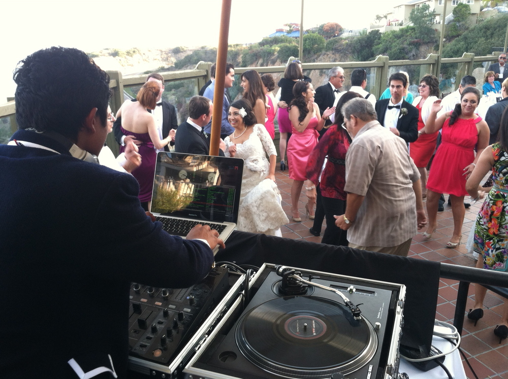 Dance Party 2 -  Tim & Christina - Dana Point Wedding - Indie Wedding DJ Orange County