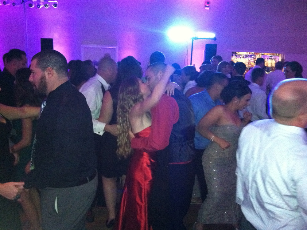 Love on the dance floor.