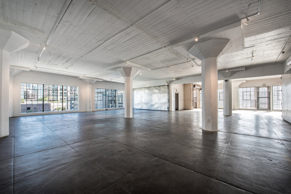 Hudson Loft Los Angeles Wedding DJ Corner Loft