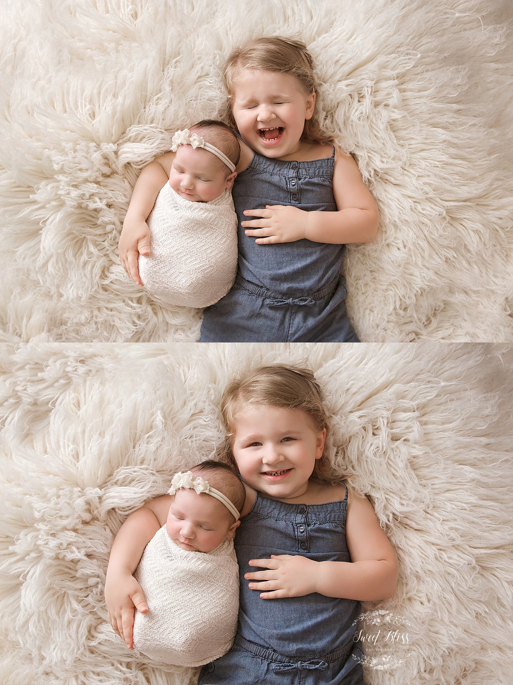 baltimorenewbornphotographer_Sweetblissphoto_siblingphotoshootcreamfur.jpg