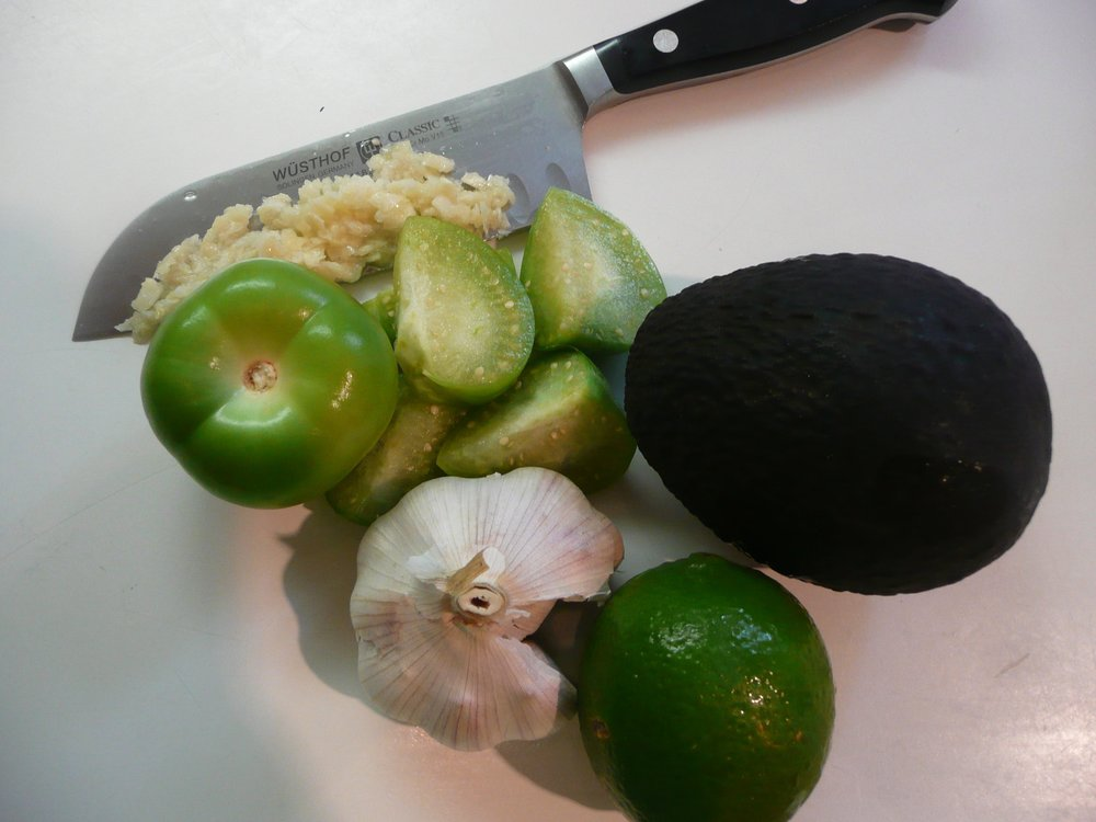 Salsa Cruda Ingredients