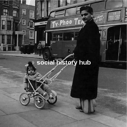 Maya in Ladbroke Grove, London 1958