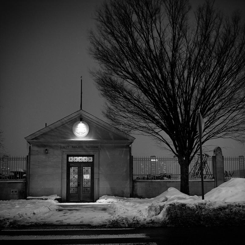Boathouse: Winter