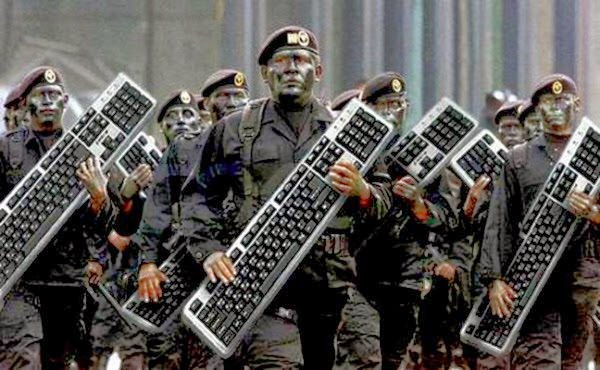 When did we become a party of keyboard warriors?