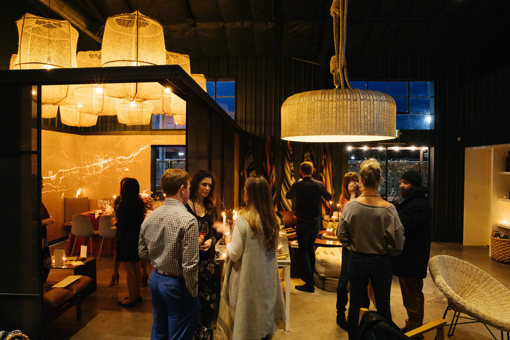 Ashley Smith Events | Jenn Emerling | Rito Ito| Cheese School | Theoni | La Tavola | Cru at the Annex | Venue Report