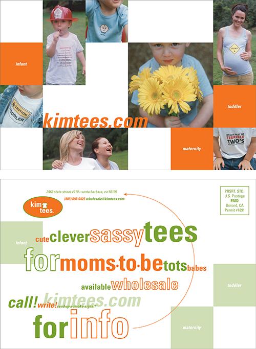 "6"" x 9"" postcard to wholesale buyers"