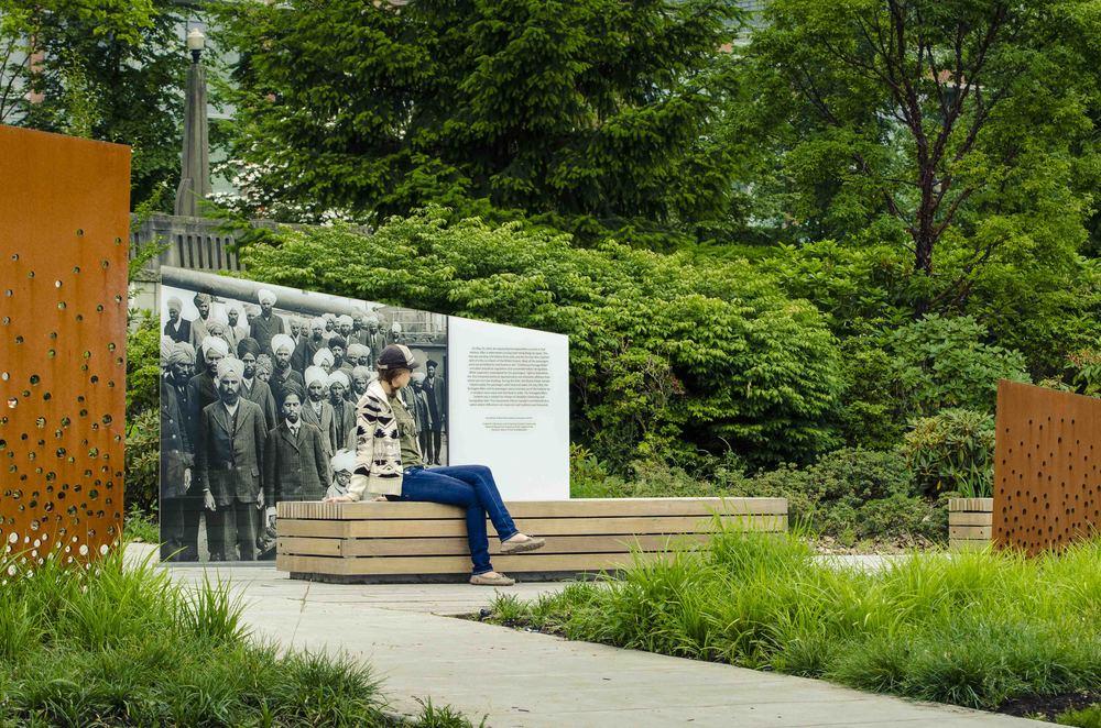 Brett ryan studios komagata maru memorial for Bc landscape architects