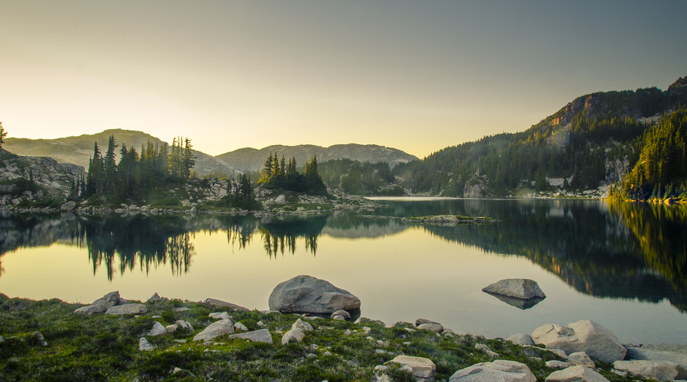 Beverly Lake, Whistler, Photo by Brett Hitchins