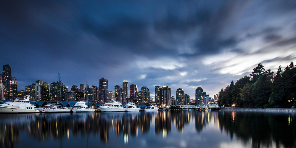 Coal Harbour, Vancouver, Photo by Brett Hitchins