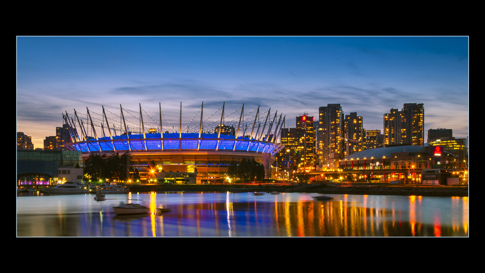 BC Place, Vancouver, Photo by Brett Hitchins