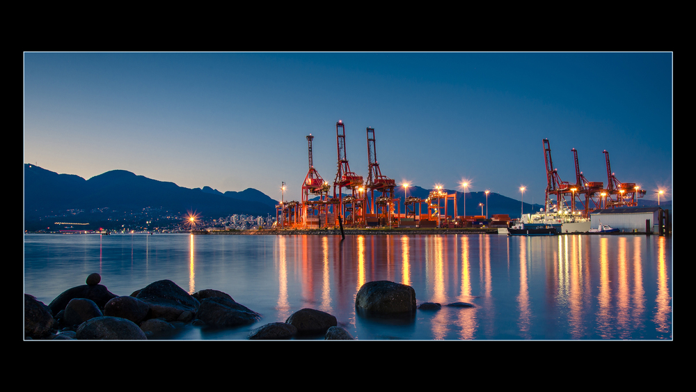Shipping Docks, Vancouver, Photo by Brett Hitchins